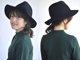 ミディアムヘア必見 ハットに似合うおしゃれ可愛いヘアアレンジ ヘア