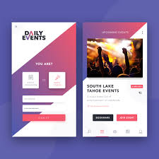 Event App Cvr Ui Pinterest Event App App And App Design