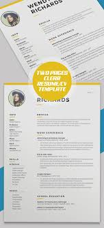 Pages Resume Template New 48 Best Resume Templates For 48 Design Graphic Design Junction