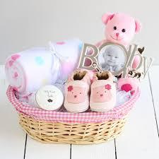 deluxe new baby gift basket