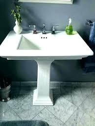 replacing bathroom vanity. Replacing Bathroom Vanity Remove Removing Floating Compact Brown Inch Install Faucet Replace Top Repair O