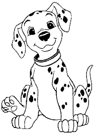 Small Picture 101 Dalmations Coloring Page Print 101 Dalmations pictures to