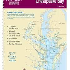 Chesapeake Bay Chart Book Lower Chesapeake Bay Waterproof Chartbook By Maptech Wpb0440 01