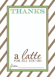 teacher appreciation gift idea thanks a latte printable thanks a latte teacher appreciation gift printable template 2