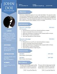 Word Template Cv Cv Resume Word Template Barca Fontanacountryinn Com