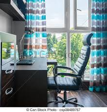 comfortable home office. Simple Home Office - Csp38489767 Comfortable M