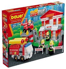 Купить <b>Конструктор Bauer Fireman</b> 742-164 <b>Пожарная</b> часть по ...