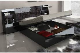 marbella furniture collection. ESF Furniture Marbella 4-Piece Platform With Storage Bedroom Set In Black Collection