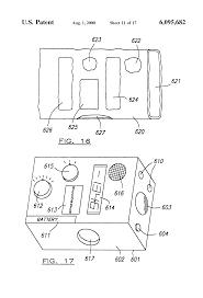 patent us6095682 pyrometer multimeter google patents patent drawing