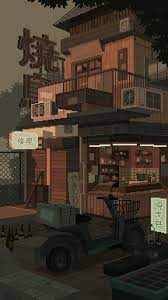 Pixel art background ...