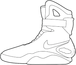 Michael Jordan Coloring Page Ring Pages Shoes Free Printable Air 3