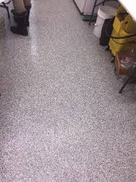 after diamondkote vinyl chip system dog kennel floor vinyl chip