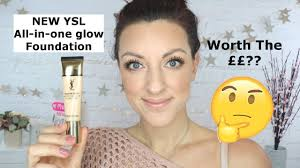 new ysl all in one glow foundation review