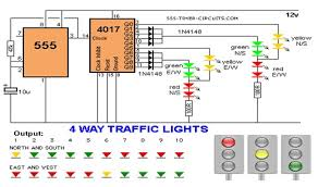 traffic light wiring diagram traffic wiring diagrams online 4 way traffic light circuit diagram wirdig