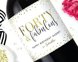 Free Printable Wine Labels Birthday Wine Labels Abhishekdubey