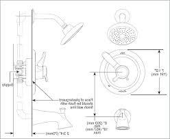 delta shower valve installation shower faucet rough in kit a luxury delta shower rough valve installation