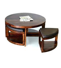 coffee table with stools and storage round coffee table with stools coffee table with chairs underneath
