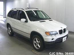 2002 BMW X5 White for sale | Stock No. 36488 | Japanese Used Cars ...