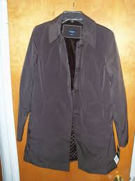 women s las misses sonoma lifestyle brown jacket coat m medium new tags kohls