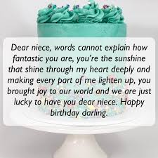 Short And Long Happy Birthday Messages Wishes Quotes For Niece