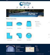 Findlay Web Design Findlay Vinyl Website Charis N Tobias