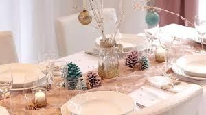 Décoration Table de Noël : idées déco pour table du réveillon de ...