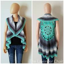 Crochet Mandala Vest Pattern Free New Decorating