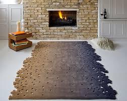 unique rugs by esti barnes captivatist unique shaped rugs