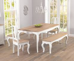table 2 chairs and bench. parisian 175cm shabby chic dining table with chairs and benches 2 bench k