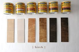 Wood Stain Comparison Chart How 6 Different Stains Look On 5 Popular Types Of Wood
