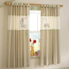 how to measure nursery curtains
