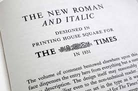 A Brief History Of Times New Roman Typography For Lawyers