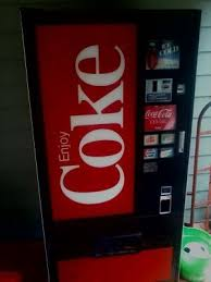 Personal Vending Machine Cooler Mesmerizing Old Coke Machine Late 48's Early 48's Coke Cooler For Garage Or Beer