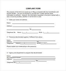 Sample Civil Complaint Form Impressive Civil Complaint Form Colbroco