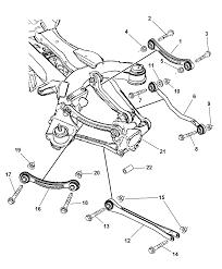 2007 Pacifica Motor Mount Diagram