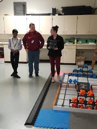 david johnson iii davidjohnson twitter lhc s student panel explains our robotics program for ors from idoe who are evaluating our stem school certification application pic com