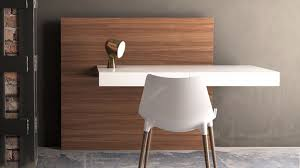 wall desks home office. arya wall mounted desk white lacquer on walnut back zuri furniture with regard to desks home office