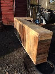diy pallet bar table diy pallet l shape desk counter and bar