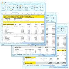 Construction Cost Estimation Using Excel Estimate Sheet Templates ...