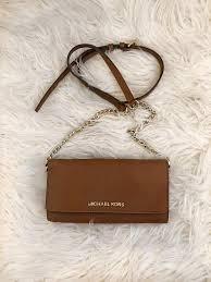 michael kors jet set travel saffiano leather cross purse