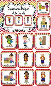 Preschool Job Chart Clip Art Pngline