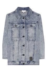 <b>Джинсовая</b> куртка <b>DKNY</b> голубого цвета — купить за 14040 руб. в ...