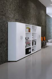 cupboard office. White Office Cupboard 800mm High Aspire ET/CB/800/WH - Enlarged E
