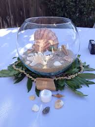 Glass Bowl Decoration Ideas Creative Idea Cool Seashell Table Centerpiece In Clear Glass 16
