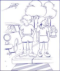 Small Picture Home Safety Coloring Pages Good Halloween Safety Coloring Pages