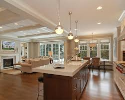 Open Concept Kitchen And Family Room | Re Inventing The Living Room