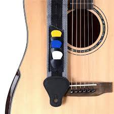 grey same as the picture minimum length 90cm maximum length 145cm width 5cm material nylon package include 1 x nylon guitar strap3 x guitar picks
