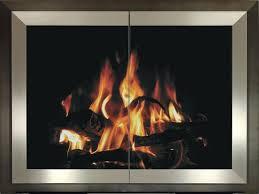 modern fireplace glass doors fireplace gift gallery reynoldsburg oh