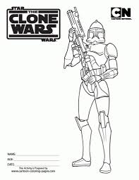 Small Picture Star Wars Clone Coloring Pages in Clone Trooper Coloring Pages