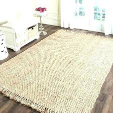 jute rug 9x12 soft casual natural fiber hand woven chenille nuloom jute rug 9x12